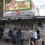 Tiger pies at the world famous Cafe de Wheels